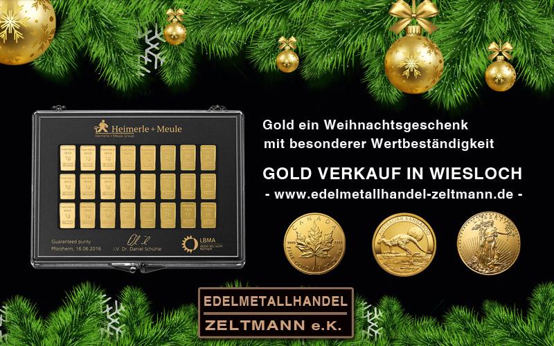 Gold Geschenk kaufen Wiesloch